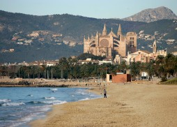 Ausblick vom nassau beach club Palma