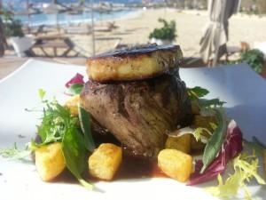 Mittagsmenü im Nassau Beach Club Palma