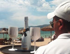 nassau beach club mallorca champagne