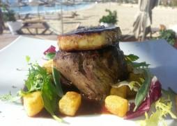 köstliches Mittagsmenü im Nassau Beach Club Palma